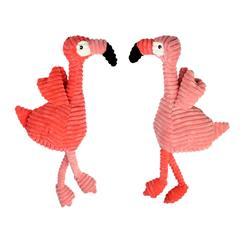 Pet Envy Corduroy Flamingos by Multipet