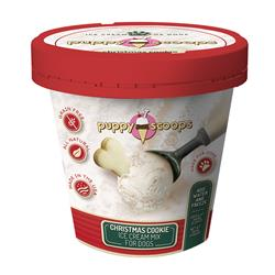 Christmas Cookie Ice Cream by Puppy Cake