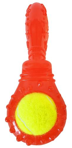 Pacifier Tennis Ball Toy with Treat Fill And Squeaker