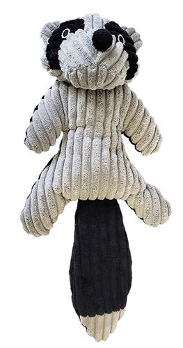 Rocco the Racoon - Corduroy Plush Toy with Squeaker