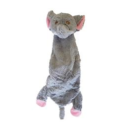 Oscar the Elephant - Skinny Crinkle Toy