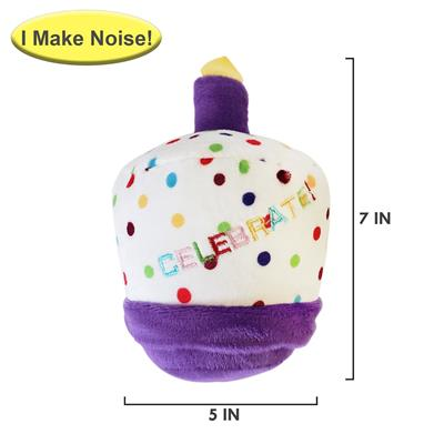 Birthday 4 pc Set – Plush Toy, Bandana, Hat & Bow Tie