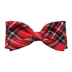 Royal Tartan Bow Tie by Huxley & Kent