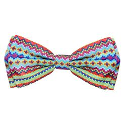 Fairisle Bow Tie by Huxley & Kent