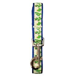"Cool Cactus Designer Dog Leash - 6 ft x ¾"" wide"