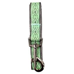 "Boho Mint Unicorn Designer Dog Leash - 6 ft x ¾"" wide"