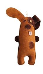 Native Dog Leather Puppy Toy
