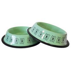 Mint Unicorn 24oz. Designer Plastic Non-Skid Dog Bowl