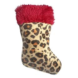 Leopard Stocking Cat Toy by Kittybelles