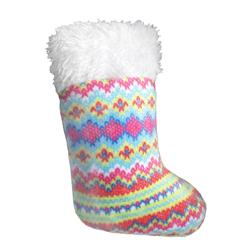 Fairisle Stocking Cat Toy by Kittybelles