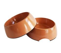 Eco Friendly Bamboo Bowls in Peach - 24oz.