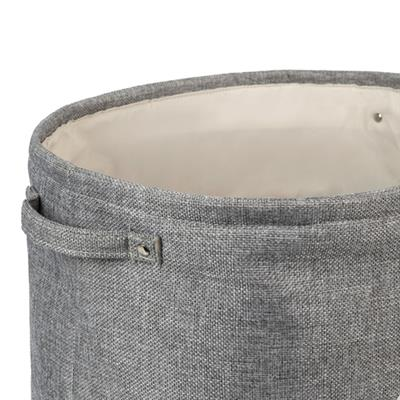 Capri Grey Pet Toy Basket