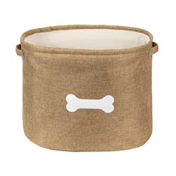 Capri Tan Pet Toy Basket