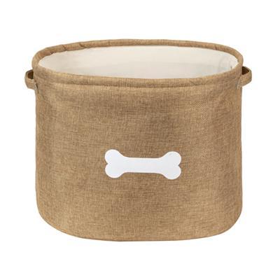 Capri Tan Pet Toy Basket