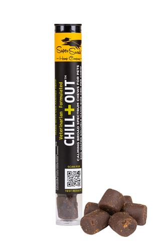 Trial Size Grain Free Chill+Out 5mg Water Soluble Hemp Chews 6ct