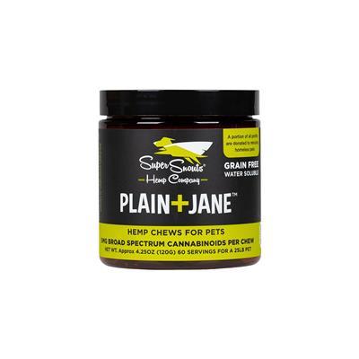 Grain Free Plain+Jane 5mg Water Soluble Hemp Chews 30ct.