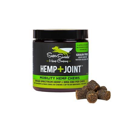 Grain Free Hemp+Joint 5mg Water Soluble Hemp Chews  30ct.