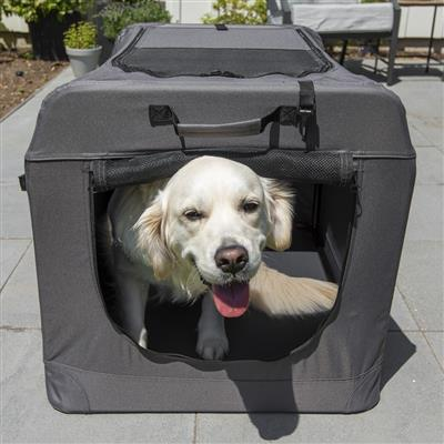 Soft Sided Medium Portable Dog Crate by PortablePET