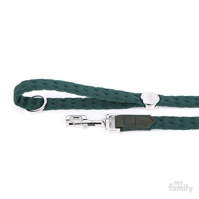 Green Nylon MILANO Collar | Leash