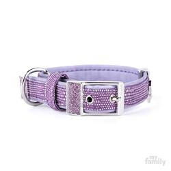 Lilac Leatherette SAINT TROPEZ Collar | Leash