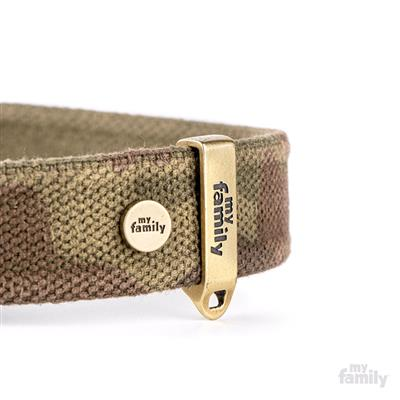 Military Green WEST POINT Nylon Collar | Rope Leash