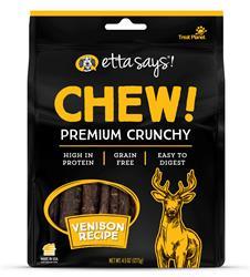 Etta Says Chew! Premium Crunchy Venison Chew, wt 4.5oz
