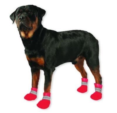 ULTRA PAWS PINK PAWTECTOR WATERPROOF BOOTS (SET OF 4) WAS $13.00, NEW LOW LOW PRICE JUST $2.60
