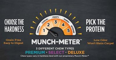 Premium Crunchy - 3' Beef - 18 per case