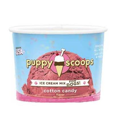 Limited Edition Cotton Candy Ice Cream Puppy Scoops Mix by Puppy Cake