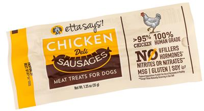 Etta Says!  Sausage Link, Chicken - 1.25oz - 12 per display box