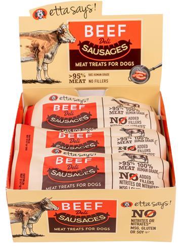 Etta Says!  Sausage Link, Beef - 1.25oz - 12 per display box