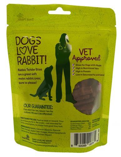 HTD Rabbit Tender Bites - wt 4.5oz