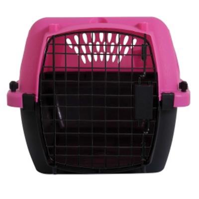 "Aspen Pet® Fashion Pet Porter 23"" Dark Pink/Black"