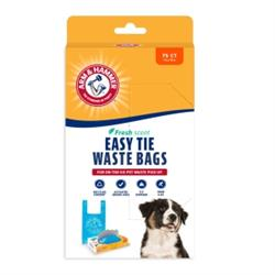 Arm & Hammer® Fresh Scent Easy Tie Waste Bags 75 Count