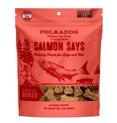 Salmon Says - Bone Shaped - 8oz bag