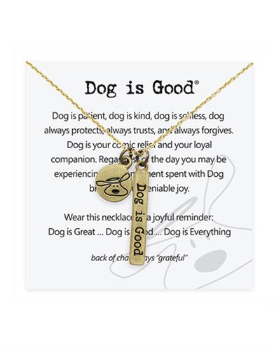 Dog is Good Signature Necklace