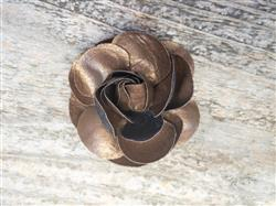 Coco Copper Dog Collar Flower