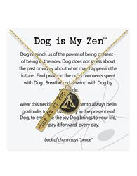 Dog is My Zen Necklace
