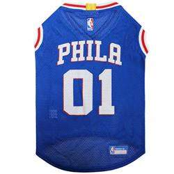 Philadelphia 76ers Mesh Basketball Jersey by Pets First