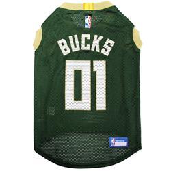 Milwaukee Bucks Mesh Basketball Jersey by Pets First