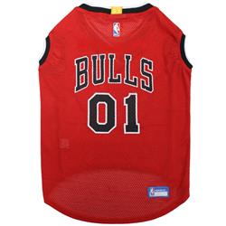 Chicago Bulls Mesh Basketball Jersey by Pets First