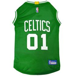 Boston Celtics Mesh Basketball Jersey by Pets First
