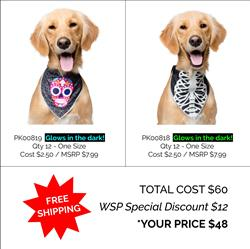 Glow-in-the-Dark Bandana Package Deal
