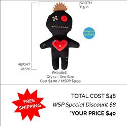 Voodoo Doll Toy Package Deal