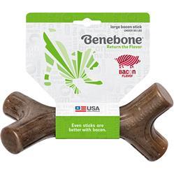 Benebone Bacon Stick Chew Toy
