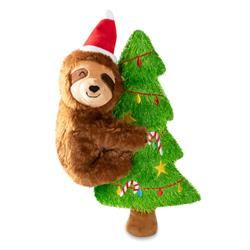 Merry Slothmas Dog Toy