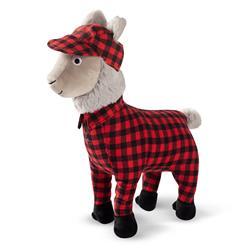 Feelin' Festive Pajama Llama Dog Toy