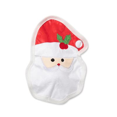 Santa Face Durable Dog Toy