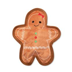 Gingerbread Girl Durable Dog Toy