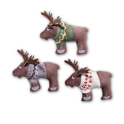 Sweater Moose Mini Dog Toys - Set Of 3